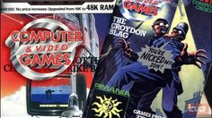 Classic Computer and Video Games magazine covers and pages