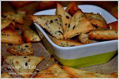 crackers triango apéro au sésame et pavot comme chez Belin