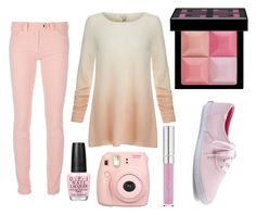 """""""Bubblegum"""" by calliefashion11 on Polyvore featuring Joie, Balenciaga, Fujifilm, Givenchy, OPI and Keds"""