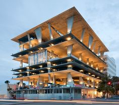 Post Post Comparative Architecture Index: 1111 Lincoln Road by Herzog & de Meuron / Dutch Pavilion by MVRDV