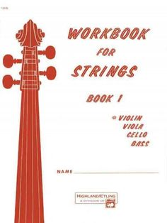 This series of workbooks for beginning and intermediate players is designed to save rehearsal time by keeping classroom explanation to a minimum. Published in separate books for each of the stringed i