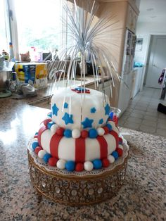 Craftheads: 4th of July Cake
