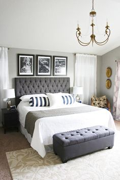 21 Stylish Bedroom Decorating Ideas to Inspire You These bedroom decorating ideas are all the inspiration you need! People tend to forget about this room as basically nobody sees it. But this is a huge mistake. This is the place where you draw new energy and recharge. So, why not dress it up nicely? http://glaminati.com/bedroom-decorating-inspiring-ideas/
