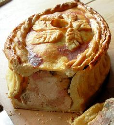 Lavender and Lovage | Pies, Simple Simon Met a Pieman ~ Raised Chicken and Ham Pie | http://www.lavenderandlovage.com