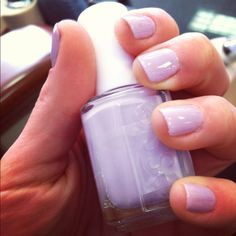 Essie - Under where? Another very soft, feminine color. I have really been liking that look, girly and dainty.