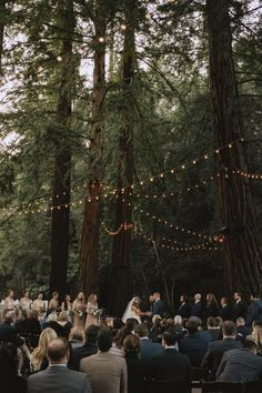 Head into the Woods with 14 Must-See Forest Weddings! - Green Wedding Shoes wedding locations Head into the Woods with 14 Must-See Forest Weddings! Enchanted Forest Wedding, Woodland Wedding, Woodland Forest, Wedding In Forest, Forest Wedding Themes, Forest Wedding Inspiration, Camp Wedding, Dream Wedding, Wedding Favors