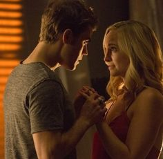 It's no secret that Caroline and Stefan — aka Steroline — make one heck of a pair. The Vampire Diaries' couple is finally married, but their Stefan E Caroline, Caroline Forbes, Vampire Diaries Stefan, Vampire Diaries The Originals, Stefen Salvatore, Paul Wesley, Dream Guy, Best Tv Shows, Narnia