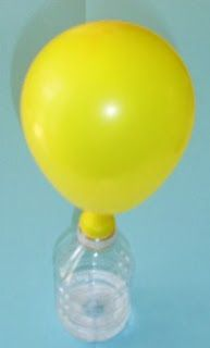 Materials balloon clean empty recycled soda bottle vinegar (or lemon juice) baking powder spoon safety goggles Show the students . Summer Science, Stem Science, Preschool Science, Weird Science, Preschool Lessons, Elementary Science, Science Ideas, Earth Science, Fun Crafts