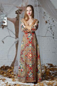 """Платья ручной работы. Ярмарка Мастеров - ручная работа. Купить Платье """" 31 июня"""". Handmade. Бежевый, цветочный"""