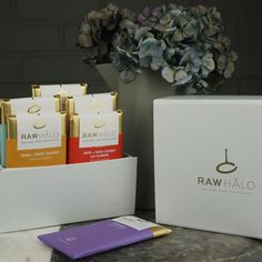 Six Bar Raw Chocolate Gift Box