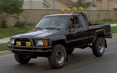Back to the Future Toyota Truck 85 Toyota Truck. My dream truck and life goal to own!