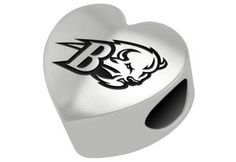 Your school has a special place in your heart and now you can proudly display your affection. The collegiate heart collection is the perfect way! Solid sterling silver beads with the logo of your favorite college or university. A perfect addition to any bracelet! Licensed Collegiate beads and charms are designed to fit most bracelet lines including, Chamilia, Troll, Biagi, Zable, Kera, Personality, Reflections, Silverado and more. They do not fit on Cheri Dori and Brighton bracelets. Our…