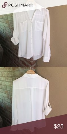 Express Portofino NWOT NWOT Express Portofino, white, size small. Express Tops