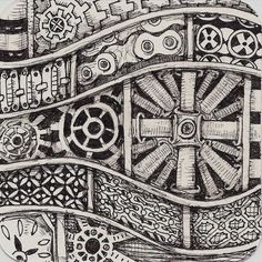 Life Imitates Doodles: Day 5 of Steampunk Week at Pattern-Collections #Steampunk…