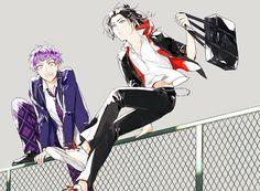 Tweets con contenido multimedia de はちこ (@hatiko030)   Twitter Cute Anime Character, Cute Characters, Anime Characters, Cool Anime Guys, Cute Anime Boy, Otaku Anime, Anime Art, Black Hair Boy, Comedy Anime