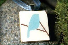 Scabble tile pendant. $14.95