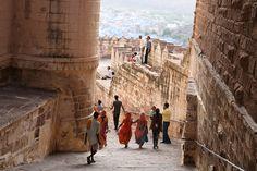 Suivons Eric d'Evaneos dans les ruelles de Jodhpur, au Nord de l'Inde.