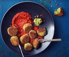 Boulettes au quinoa et aux petits pois