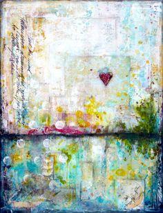 Taking flight - Laly Mille, mixed media artist