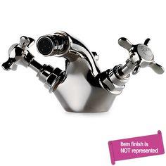 Waterworks Nickel, Polished Bidet Faucet Product Number: 08-48949-23834