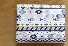 Aztec fabric Aztec pattern 44x35 100% Cotton 20s by KoreaBacol