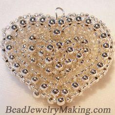 Double Heart from beadjewelrymaking.com