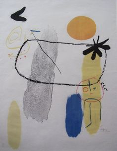 Figure with Red Sun I Lithograph Sizes 64x50 cm Date 1950 Signature YES Authentication certificate YES Price 7,000 USD Gilden's Arts UK