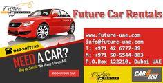NEED A CAR ?  BIG OR SMALL WE HAVE THEM ALL!  +Future Rentals  CALL : +971 42-6777-89 Info@future-uae.com  #FutureRentals   #Dubai   #Car4rent   #Bookyourcar