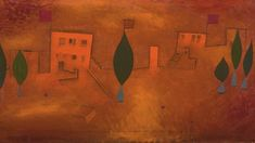 Expressionistische Kunst aus Deutschland - Art On Screen - NEWS Paul Klee, Powerful Images, Lugano, Museum, Surrealism, Oil On Canvas, Oriental, Abstract, Painting