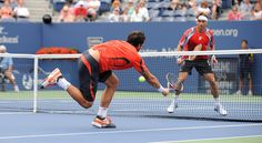 Tipsarevic vsFerrer at the Open