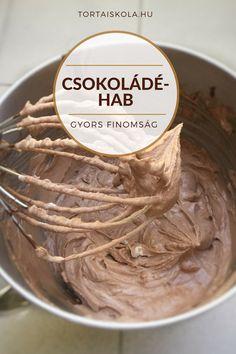 Mennyei csokis desszert, akár krémnek, de nem tortába, akár mousse-nak is jó. Ez az időtakarékos mousse, de azért jó ha tudod ,hogy ez nem igazi mousse. Inkább csokoládéhab ami fagyasztható, nagyon… Cookie Cups, Cake Tutorial, Sweet And Salty, Chocolate Ganache, Relleno, No Bake Cake, Mousse, Icing, Peanut Butter