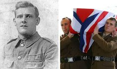 A FIRST World War soldier was laid to rest with full military honours yesterday – almost a century after he was killed in action.