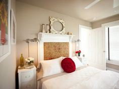 Find ideas for creating inexpensive custom headboards for your bedroom or your kid's bedroom.