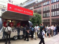 Street Kitchen.  Street food close to hotel in London.  Must try.