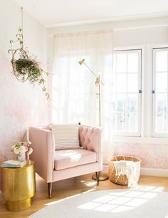 Lux and Glam Boho Reading Nook