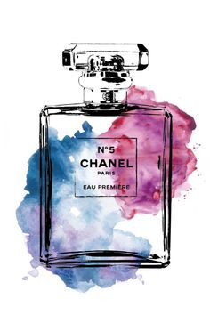 Chanel Chanel poster 24x36 Chanel No5 digital print by hellomrmoon