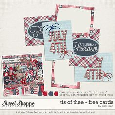 FREE Its of Thee - Free Cards by Traci Reed Designs