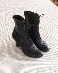 black granny boots