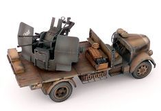 TRACK-LINK / Gallery / Opel Blitz with Flak 38