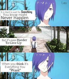 Tokyo Ghoul    Anime Quote