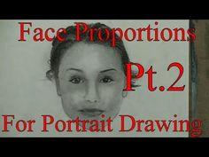 Face proportions of men & women