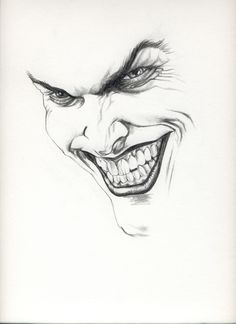 joker drawing