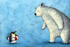 Prepared penguin by Yusuke Yonezu.