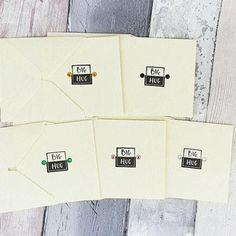 Sending a big hug cards Lockdown hug cards Cute pocket hug Baby Girl Cards, New Baby Cards, Handmade Thank You Cards, Greeting Cards Handmade, Birthday Card With Name, Birthday Cards, Sending Hugs, Hand Logo, Cat Cards