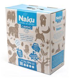 Alimento completo natural para perros adultos de todas las razas y edades.    Naku Camino es un alimento natural deshidratado para perros. Esta variedad no contiene cereales ni gluten, esto, junto a su fórmula en puré, lo hace especialmente digestible para los perros de estómago más sensible.