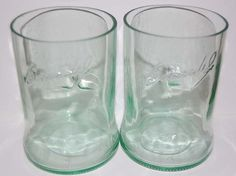 Bacardi Rum Glasses Set of 2 by SimplyGlass on Etsy, $24.00