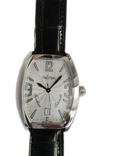 Stainless steel Paul Picot Firshire Tounneau shaped sweep center seconds automatic wristwatch,   http://www.liveauctioneers.com/item/25627364_stainless-steel-paul-picot-firshire-automatic-date