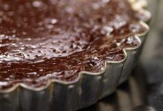 Une fine tarte chocolatée à déguster entre amis ou en famille