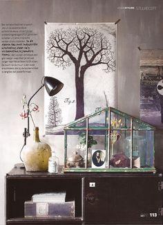 interior production from the magazine 'VT living', October 2012, styling: Cleo Scheulderman, photography: Jeroen van der Spek.   www.vtwonen.nl