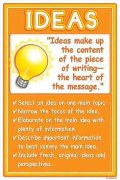 6 + 1 Writing Traits - Mesa Public Schools
